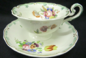 NOT FOR SALE Regency / Victorian tea cup & saucer - Coalport?
